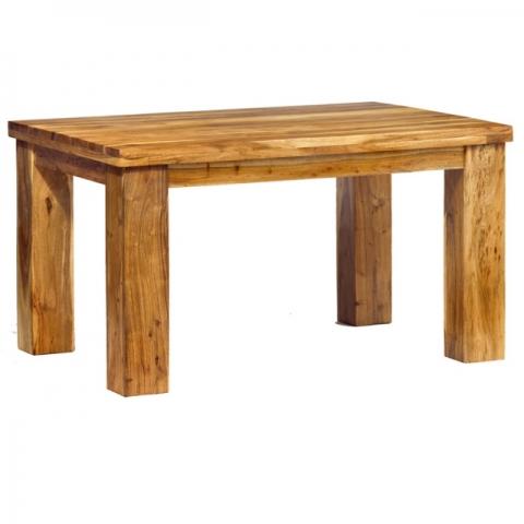 Metro Acacia Small Dining Table