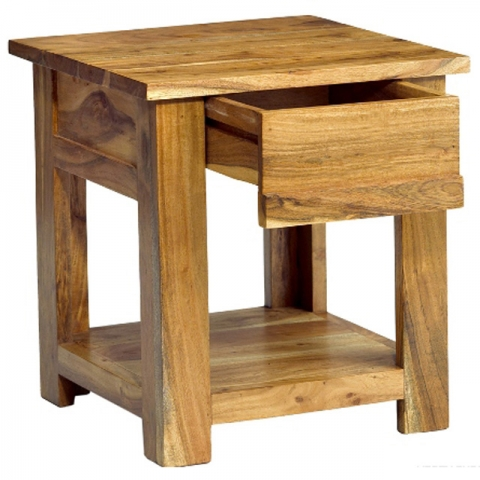 Metro Acacia End Table