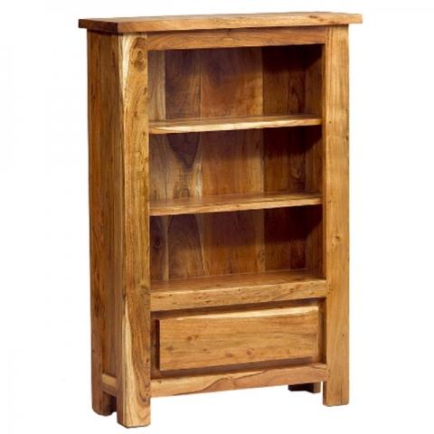 Metro Acacia Small Bookcase
