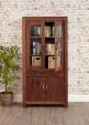 Mayan Walnut Glazed Bookcase