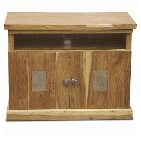 Slate Acacia TV Cabinet