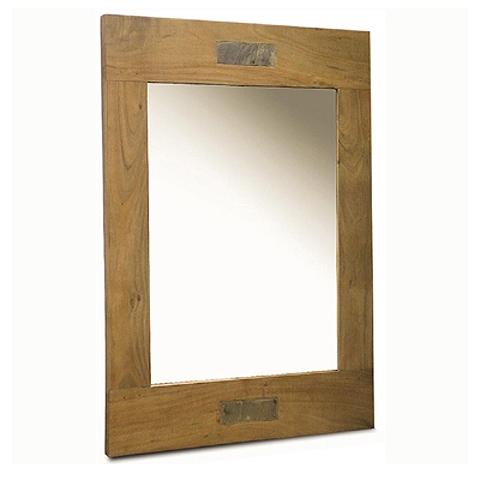 Slate Acacia Mirror