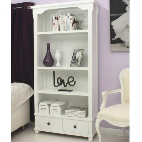 Hampton Painted Bookcase