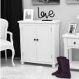 Hampton Painted Shoe Cupboard