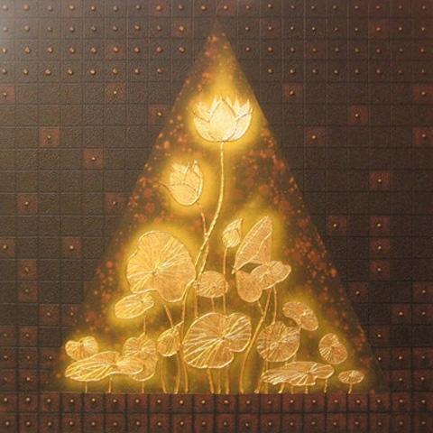 Thai Art - Lotus Pyramid