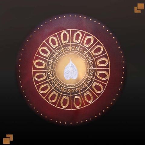 Thai Art - Lotus Circle