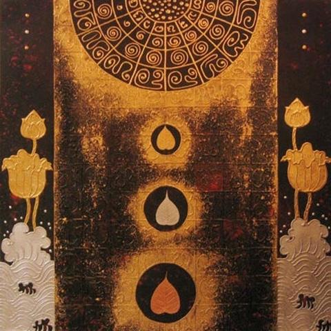 Thai Art - Lotus