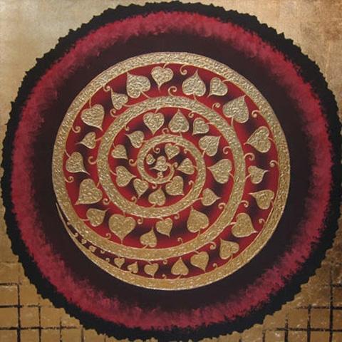 Thai Art - Bodhi Spiral