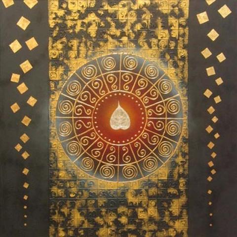 Thai Art - Bodhi Gold