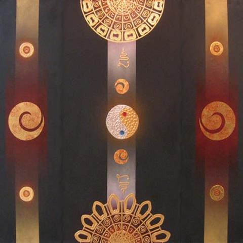 Thai Art - Ying Yang