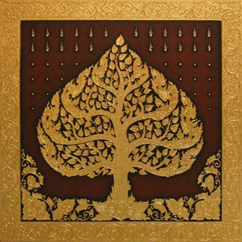 Thai Art - Phodhi Gold Tree