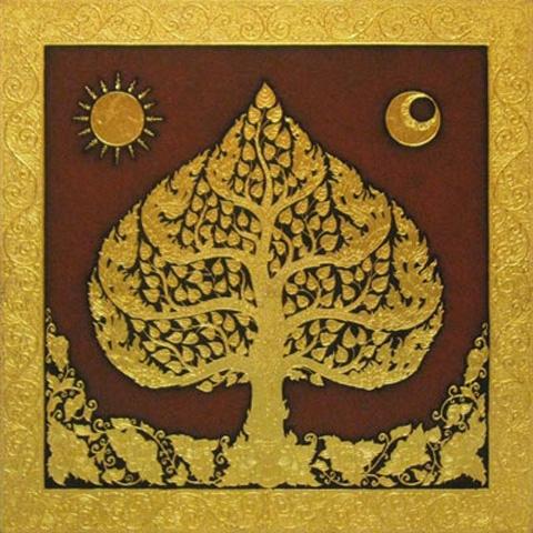 Thai Art - Phodhi Gold Tree