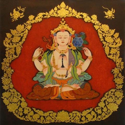 Thai Art - Chinese Buddha