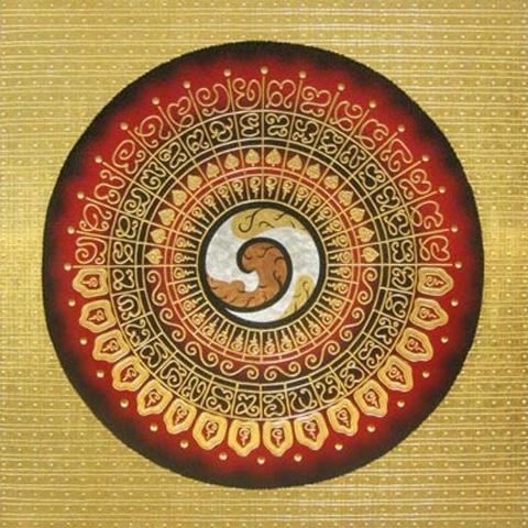 Thai Art - Circles