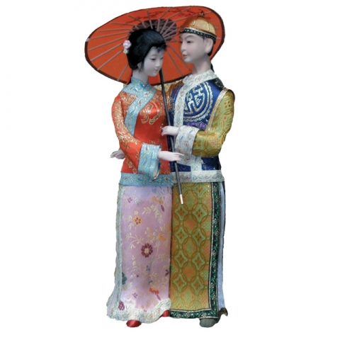 Chinese Qing Dynasty Dolls