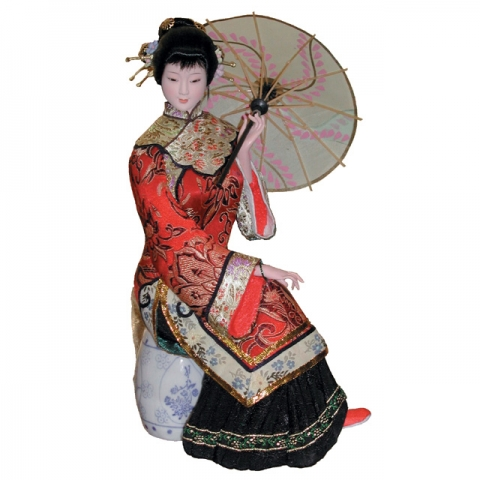 Collectible Chinese Doll
