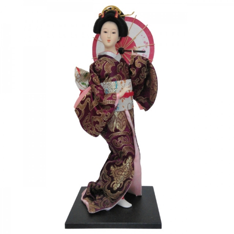 Collictible Japanese Doll