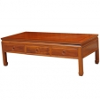 Rosewood 3 Drawer Table