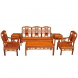 Rosewood Table and Chairs Set
