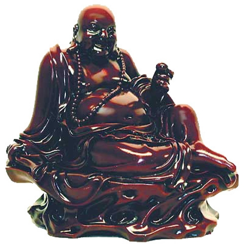 Sitting Buddha Carving