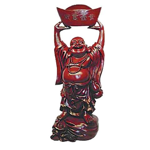 Buddha Holding Ingot Aloft