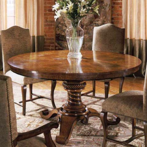 Walnut Dining Table Round