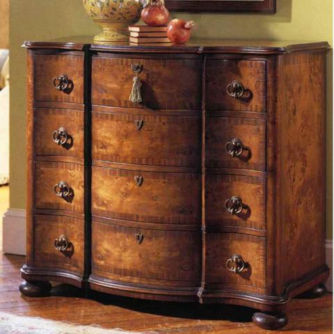 Walnut Tuscany Serpentine Chest