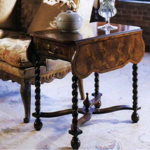 William And Mary Walnut Table