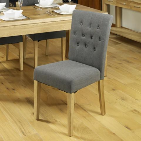 Contempo Oak Dining Chair 3