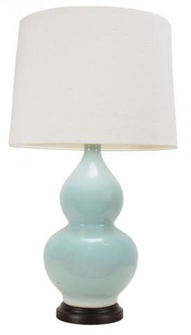 Chinese Table Lamp Crackled (Pair)