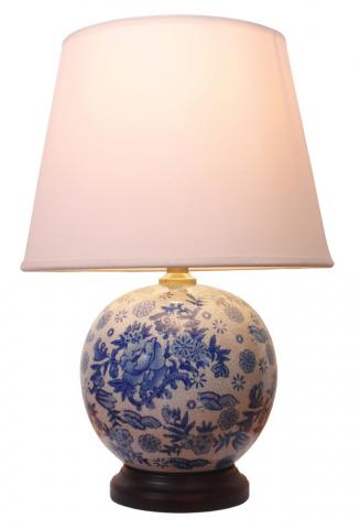Chinese Table Lamp Round (Pair)