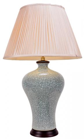 Chinese Table Lamp Veined (Pair)