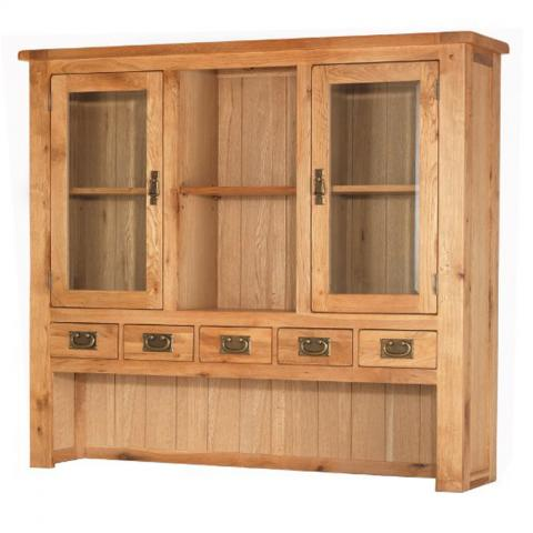 Cherbourg Oak Large Hutch