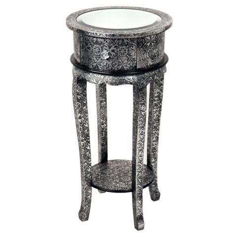 Chaandhi Kar Mirrored Table Elegant