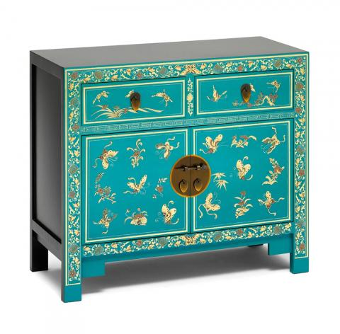 Chinese Decorated Sideboard