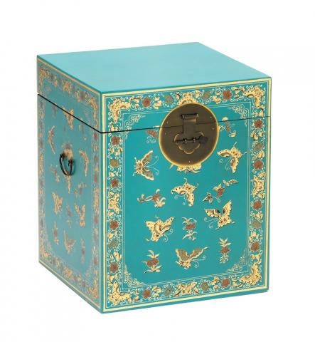 Chinese Decorated Trunk