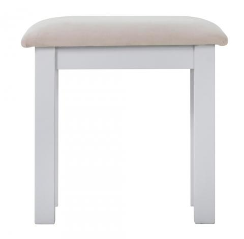 White Painted Dressing Stool