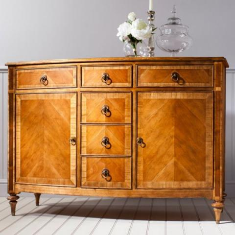 Spire Walnut Medium Sideboard
