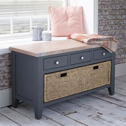 Chalk Downpipe Oak sideboard