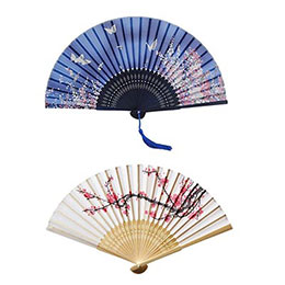 Two Chinese Hand Fans