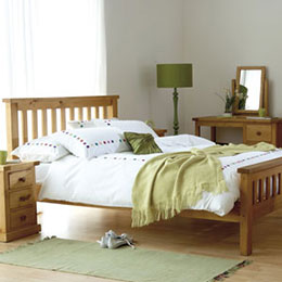 Chunky Pine Bedroom Furniture