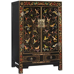 Reproduction Oriental Chinese Cabinets by Shimu