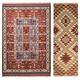 Traditional Indian Kilim Rugs
