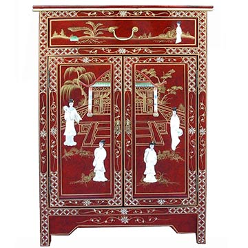 Red Lacquer Chinese Furniture