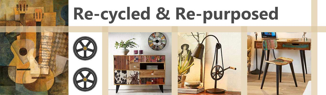 Re-purposed & re-cycled furniture