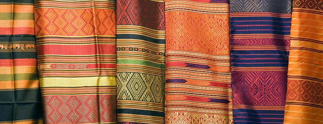 Traditional Thai silk designs